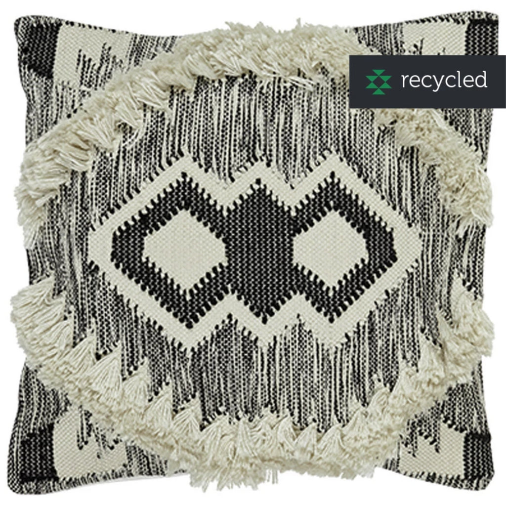 Boho Cushion with Fringe