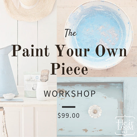 Paint Your Own Piece with Fusion Mineral Paint