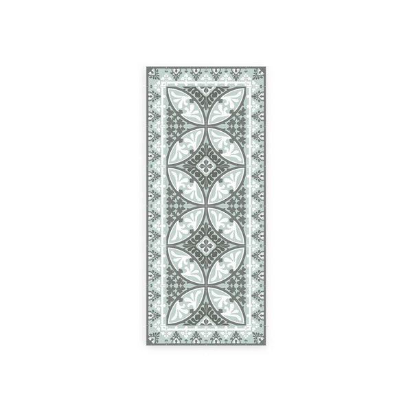 Paris Pattern Vinyl Floor Mat by MAMUT Big Design