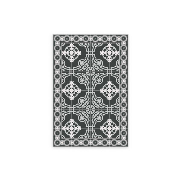 Versailles Pattern Vinyl Floor Mat by MAMUT Big Design