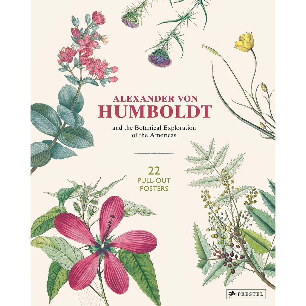 Botanical Illustrations - 22 Pull Out Posters by Alexander Von Humboldt