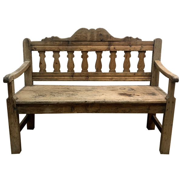 Antique European Bench