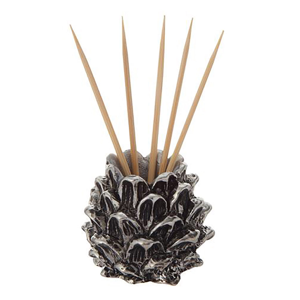 Pinecone Christmas Toothpick Holder