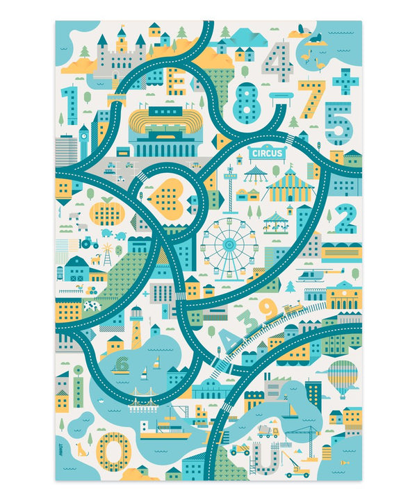 Didactic Kid's Play Mat by MAMUT Big Design