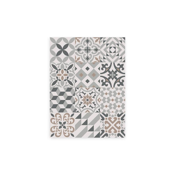 Ecléctic Pattern Vinyl Floor Mat by MAMUT Big Design
