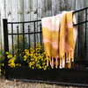 Mohair Throw Tie Dye by Ezcaray