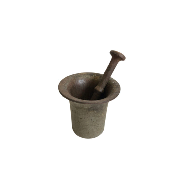Vintage European Mortar & Pestle