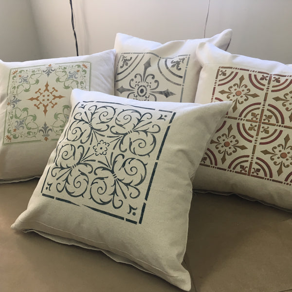 Painted Canvas Pillow Workshop