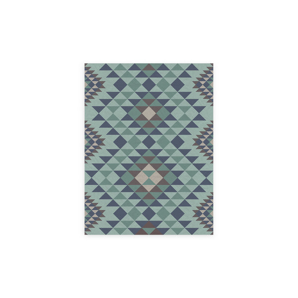 Kilim Ankara Vinyl Floor Mat by MAMUT Big Design