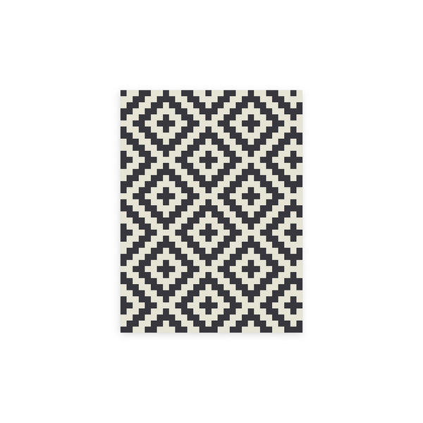 Kilim Pamukale Vinyl Floor Mat by MAMUT Big Design