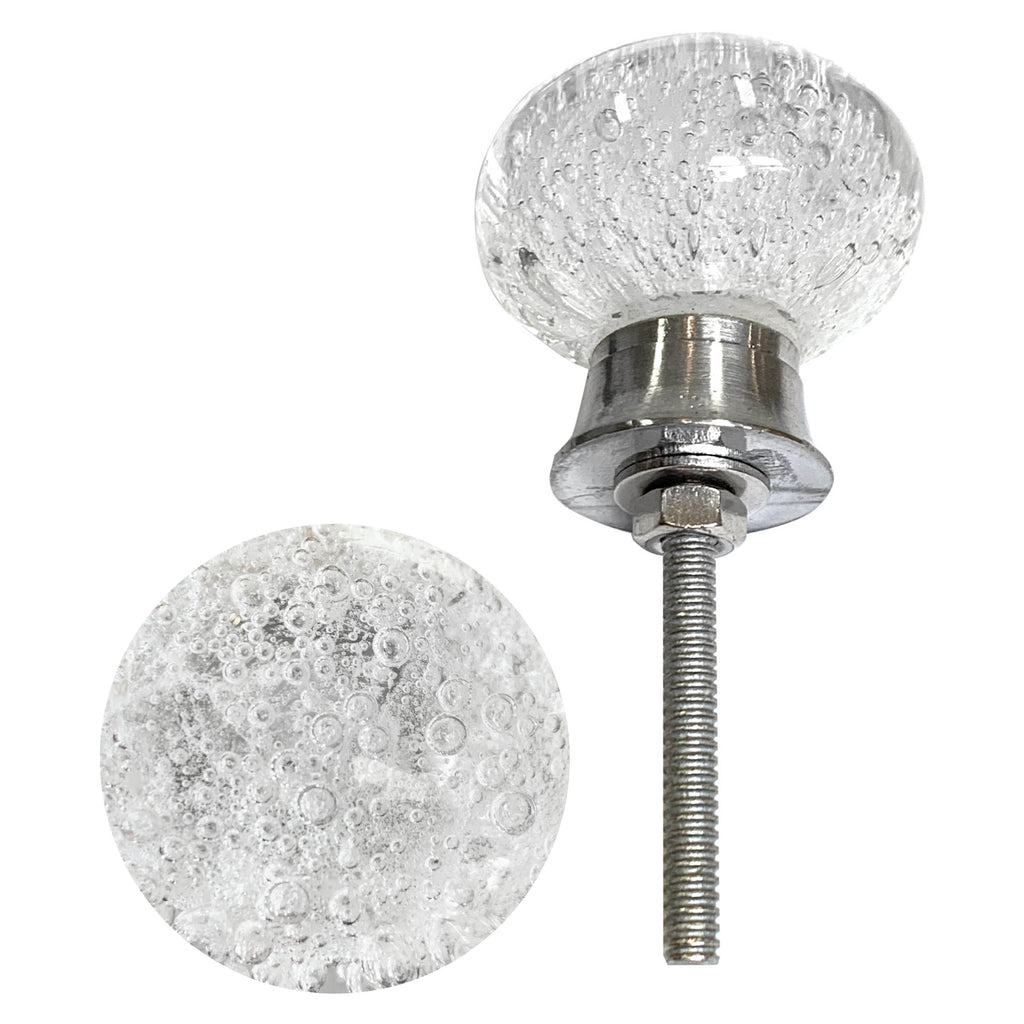 Glass Bubble Knobs