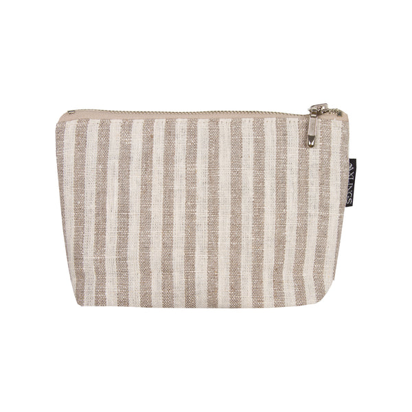 Axlings Sweden Block Stripe Toiletry Bags - only available at lagom142.com