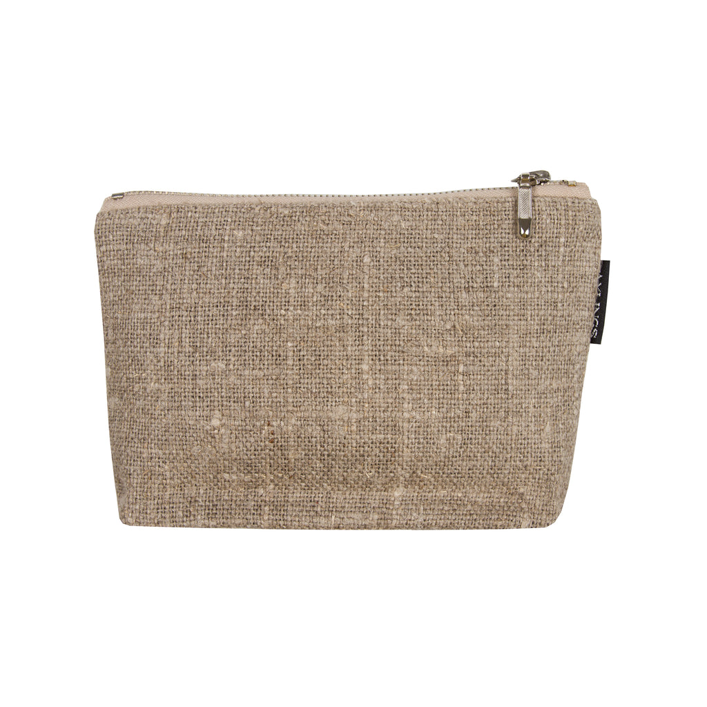 Axlings Sweden Burlap Toiletry Bags