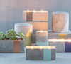 Urban Cement Candles - available only at lagom142.com