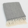 John Hanly & Co Merino Wool and Cashmere Throw Extra Long