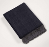 John Hanly & Co Merino Wool and Cashmere Throw