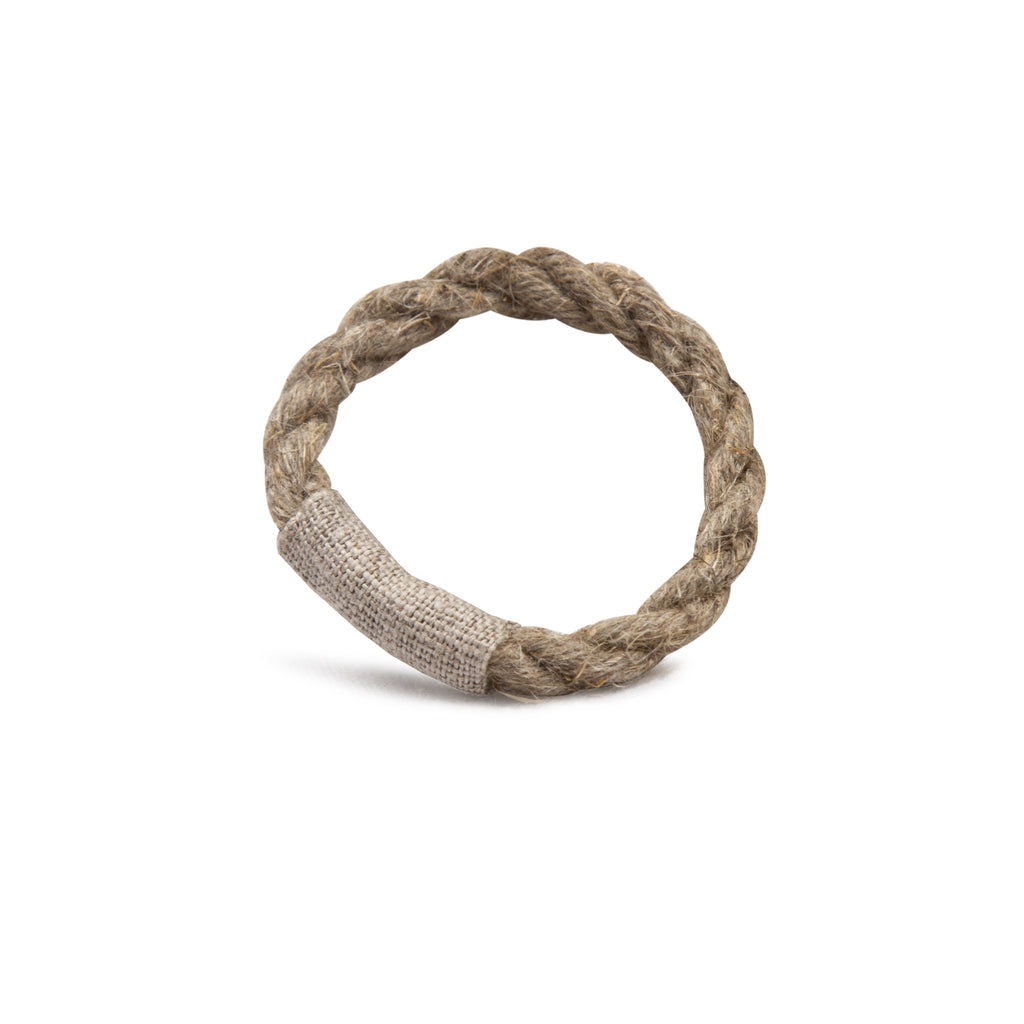 Axlings Sweden Natural Linen Napkin Rings - only available lagom142.com