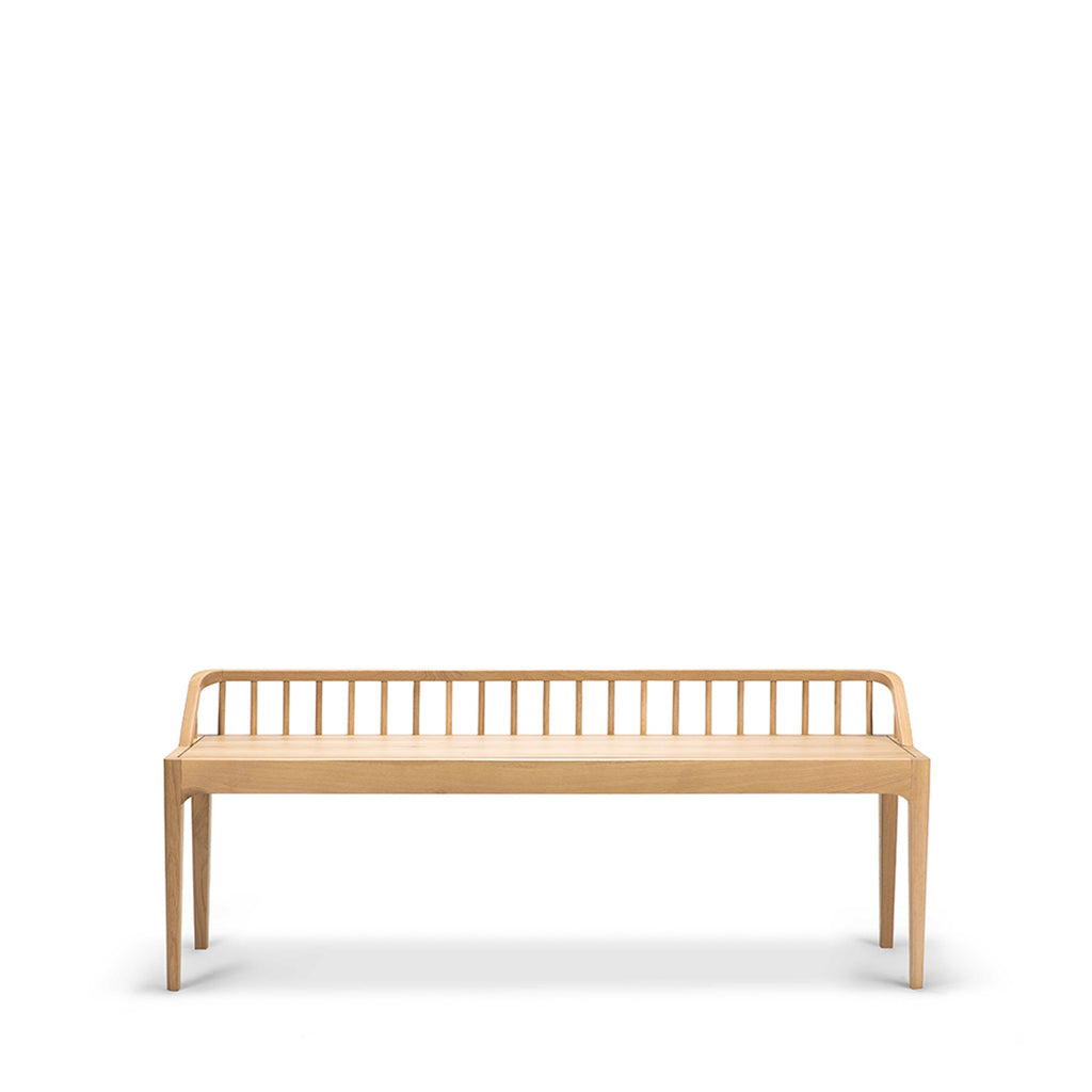 Oak Spindle Bench - only available at lagom142.com