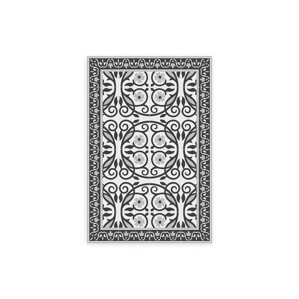 Barroco Barcelona Pattern Vinyl Floor Mat by MAMUT Big Design