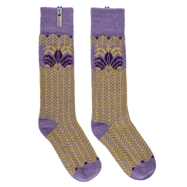 Fager Pattern Swedish Socks Oejbro Vantfabrick
