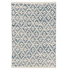 Melange Diamond Woven Cotton Rugs