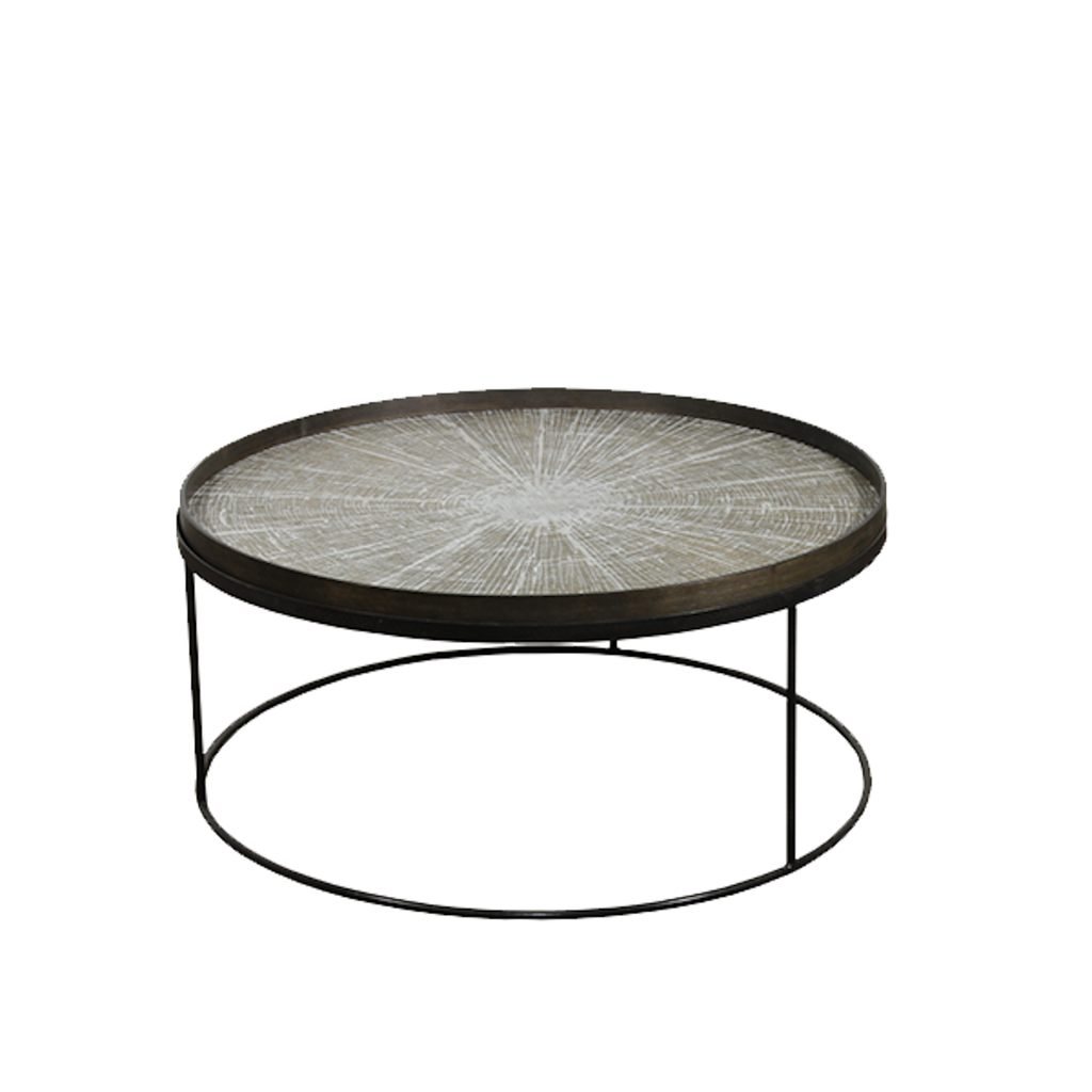Notre Monde Round Tray Table