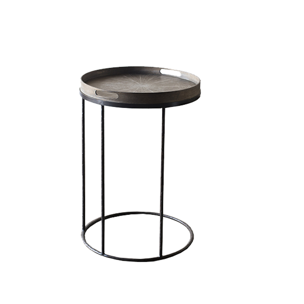 Notre Monde Round Tray Table - only at Lagom142.com