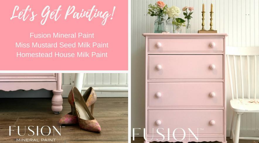 Fusion Mineral Paint Michael Penney Collection