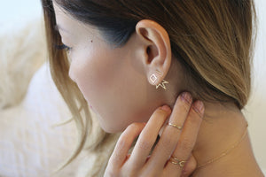 #PiercingGoals: How to Layer Your Way to the Top with Dainty Studs