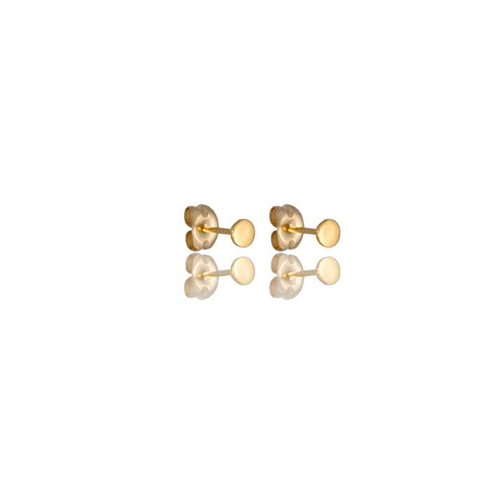 Micro Pi Studs - The Pi Collection - Minimalist circle studs