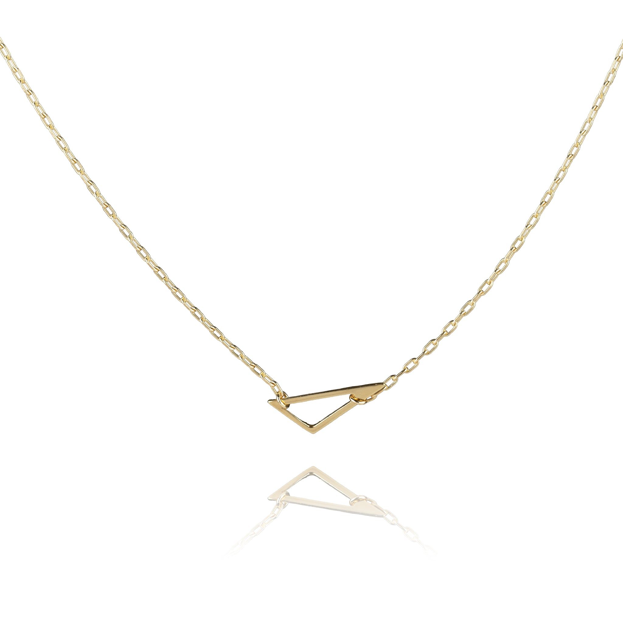 Mini Scalene Necklace