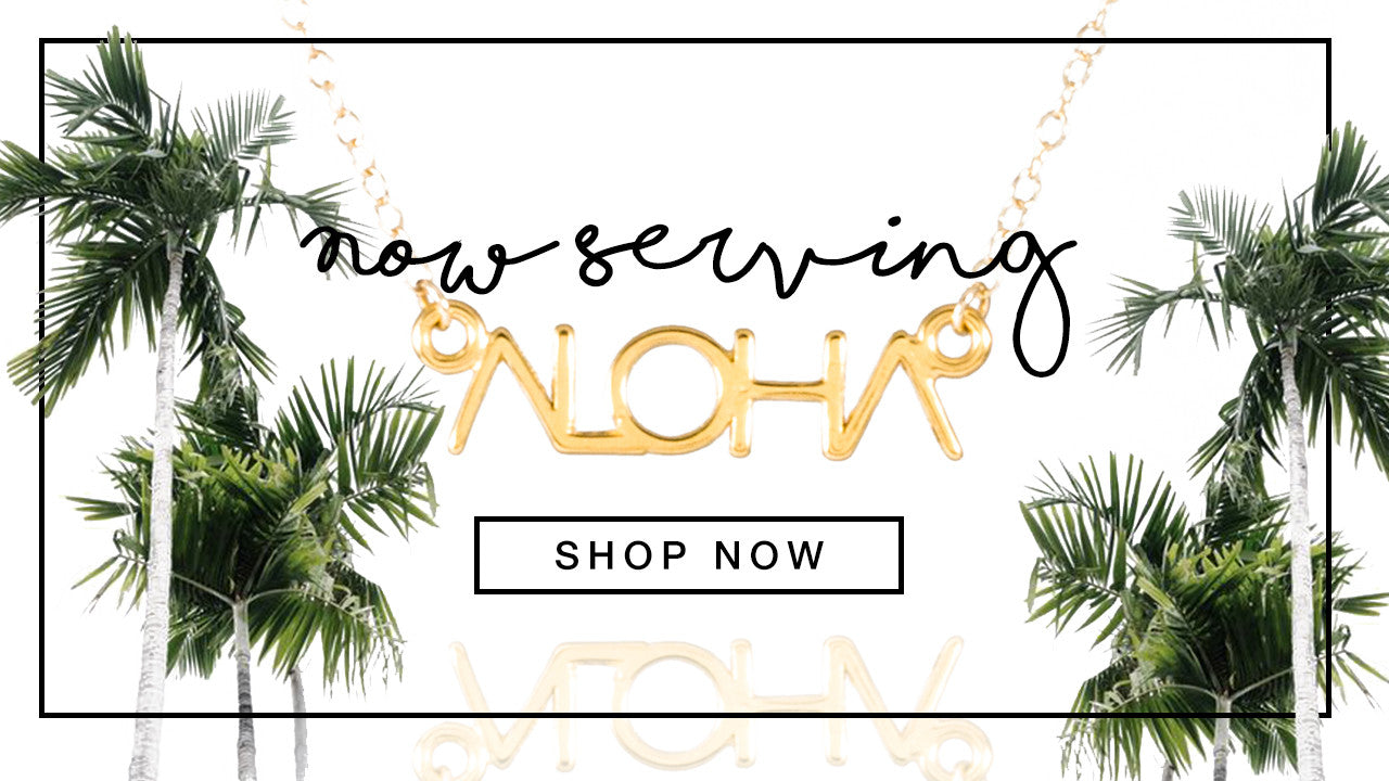 aloha necklace