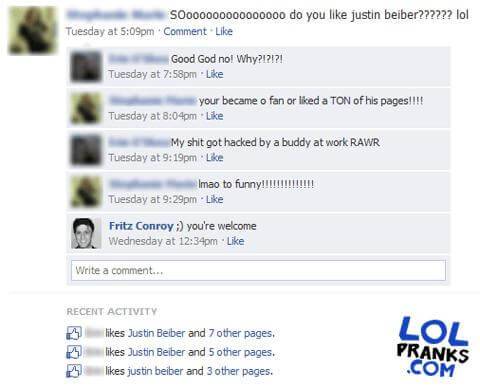 Funny Status Fon Guys Facebook With Funny Comments