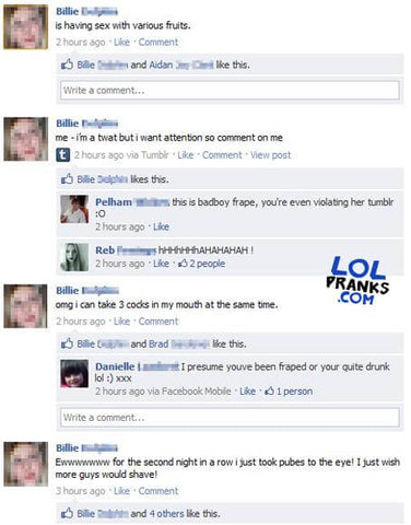The Only List of Facebook Pranks You'll Ever Need - Prank Blog