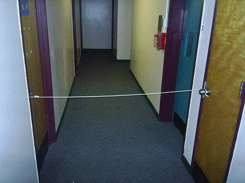 classic-rope-doors-shut-university-prank-funny & 10 Funny Pictures of College Dorm Room Pranks u2013 WTF Prank Candles ...