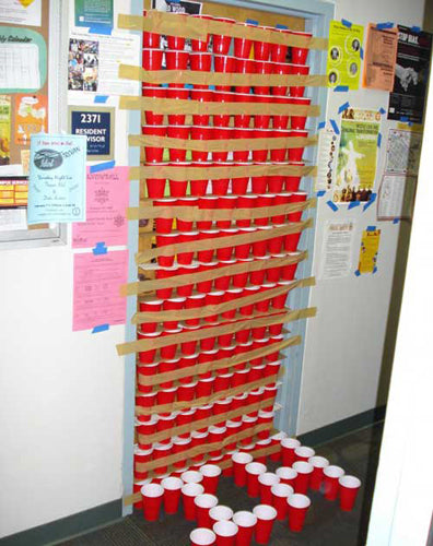 cups-taped-door-room-flat-uni-prank