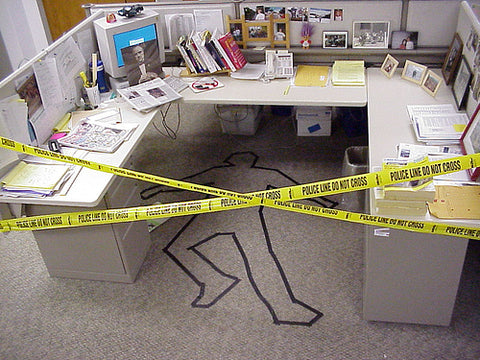funny-april-fools-prank-practical-joke-idea-for-the-office-crime-scene