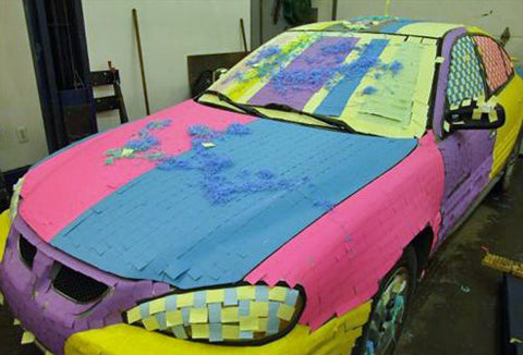 funny-car-prank-covered-in-post-it-notes-cool-fun