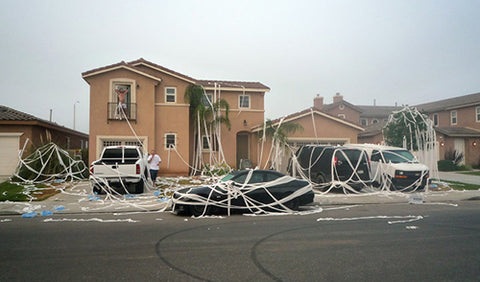 The Ultimate April Fools Prank: Toilet Papering a House – WTF Prank ...