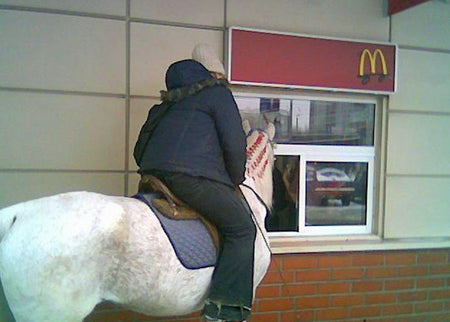 hilarious-drive-thru-prank-idea-guy-on-a-horse