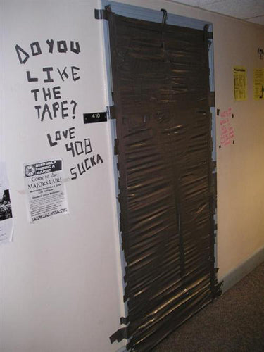 hilarious-flat-mates-prank-war-funny-dorm-room-door-taped-shut
