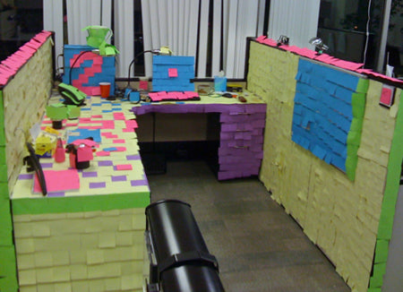 office-co-worker-funny-silly-prank-classic-post-it-notes-everywhere