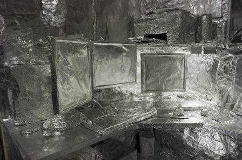 tin-foil-funny-office-prank-covered-wrapped-up-amusing1
