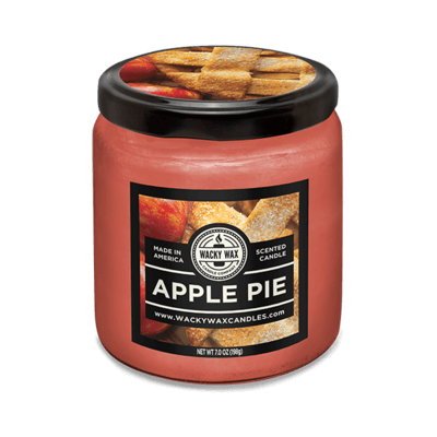 apple pie prank candle