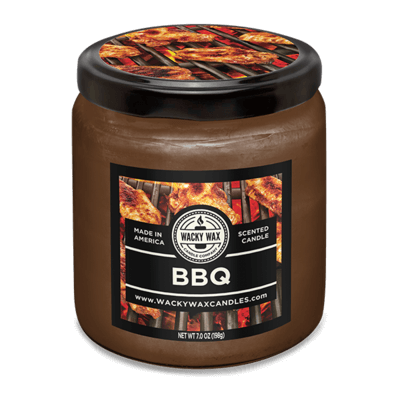 bbq scented candle