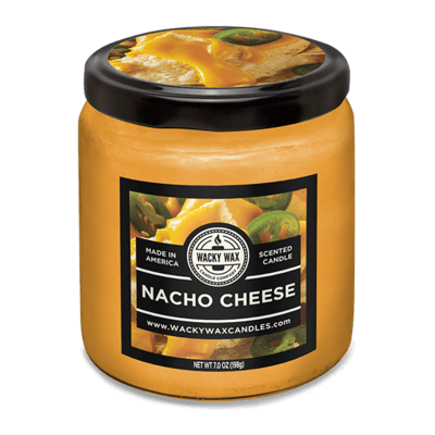 nacho cheese candle