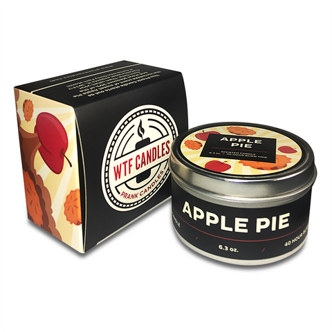 Apple Pie to Dirty Fart Prank Candle - With Gift Box