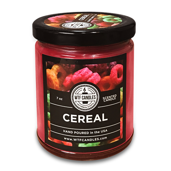 Cereal Scented Uncommon Scents WTF Candle