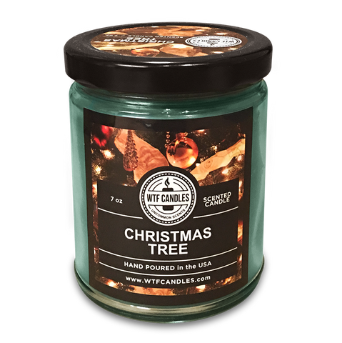 Christmas Tree Scented Uncommon Scents WTF Candle