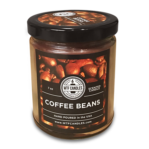 Coffee Beans Scented Uncommon Scents WTF Candle